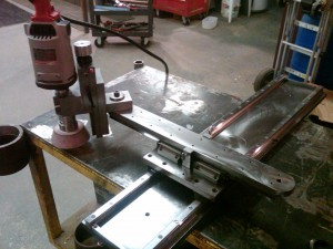 Custom Built Portable Surface Grinder(1)