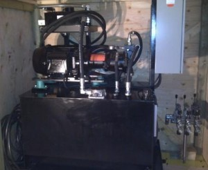 Custom Hydraulic Power Unit and Controls