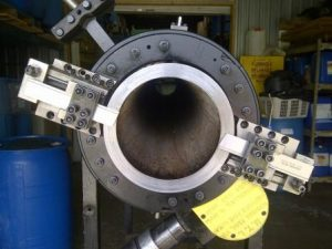 8'' Pipe Cold Cutting with MTI 208