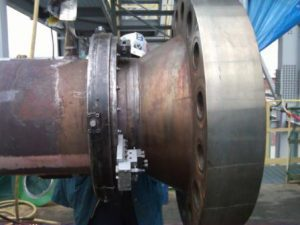Cut-Off & Bevel 16'' SS Pipe Flange
