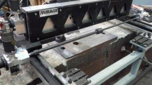 Mirage GMRF Gantry Mill Sole Plate Machining