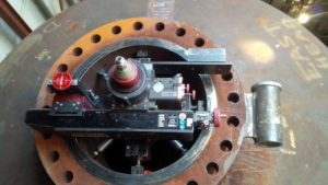 Mirage MM 1000i ID Mount Flange Facing Machine