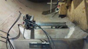 Mirage MR 1500 Portable Mill -Stay Vane Machining