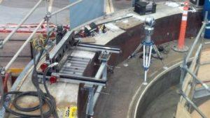 Stator Sole Plate Faro Laser Tracker Check