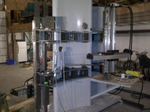 Stay Vane Milling Test Stand -Inlet and Outlet Machine Mounts